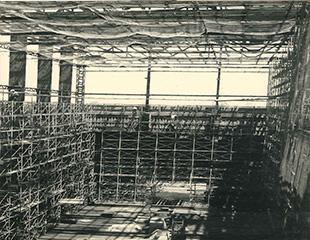 舞台外壁外枠工事